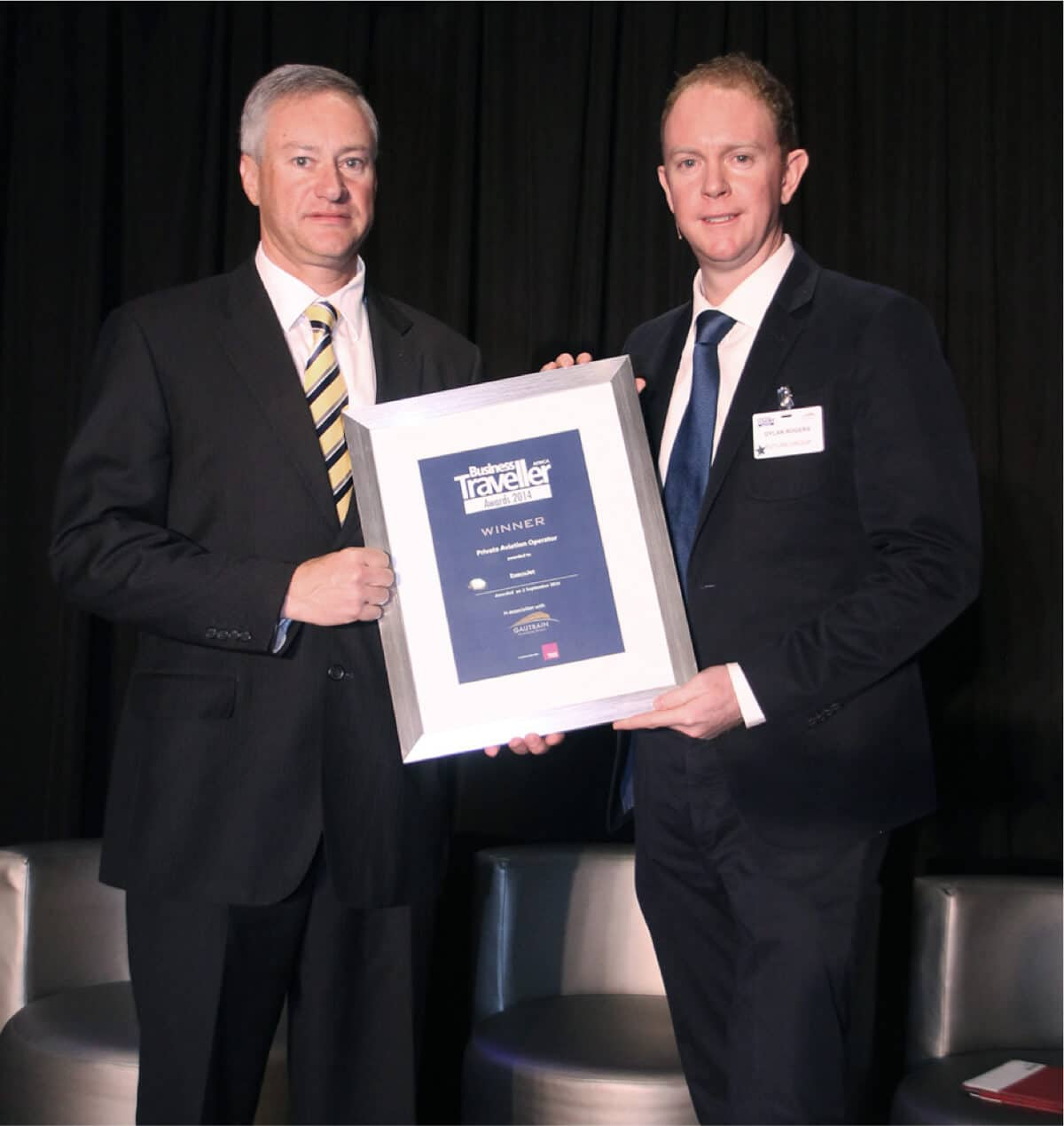 ExecuJet remporte le prix Business Traveller Africa