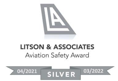 ExecuJet Africa awarded Litson & Associates Silver Aviation Safety Award