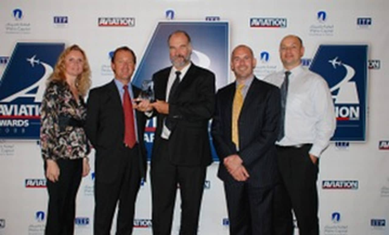ExecuJet Middle East awarded Business Jet Provider of the Year at the Aviation Business Awards 2008
