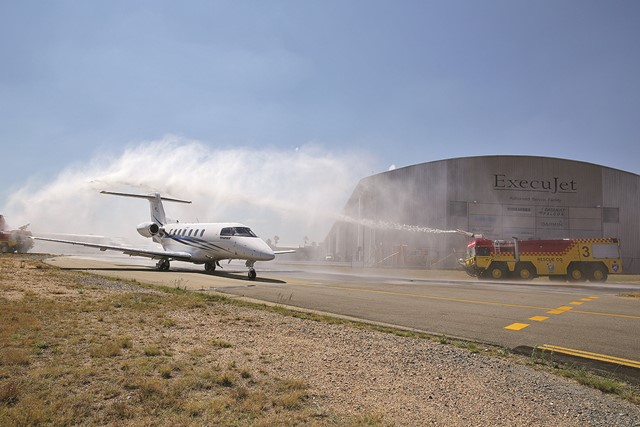 ExecuJet celebrates the arrival of Africa's first Pilatus PC-24