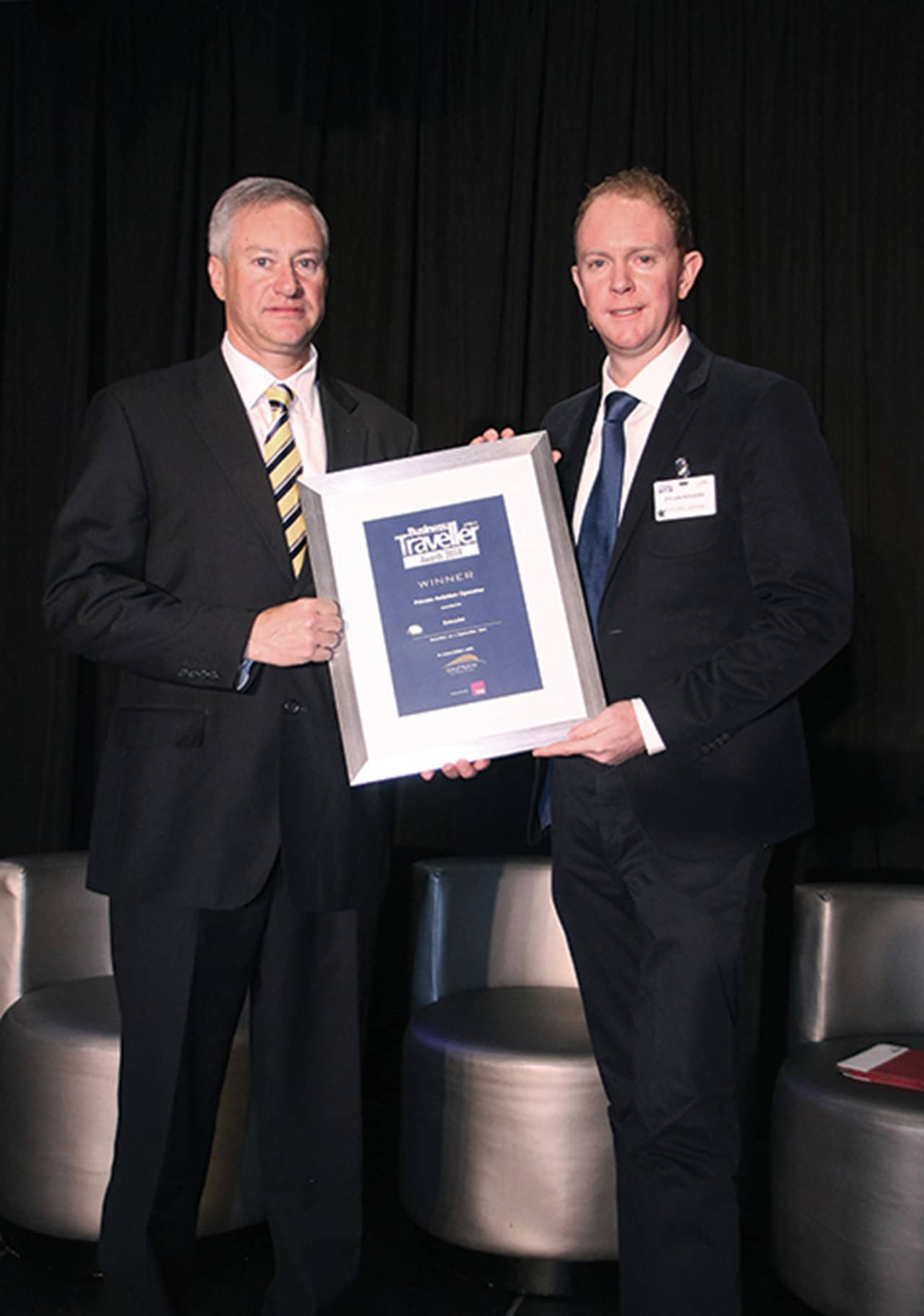ExecuJet wins Business Traveller Africa Award