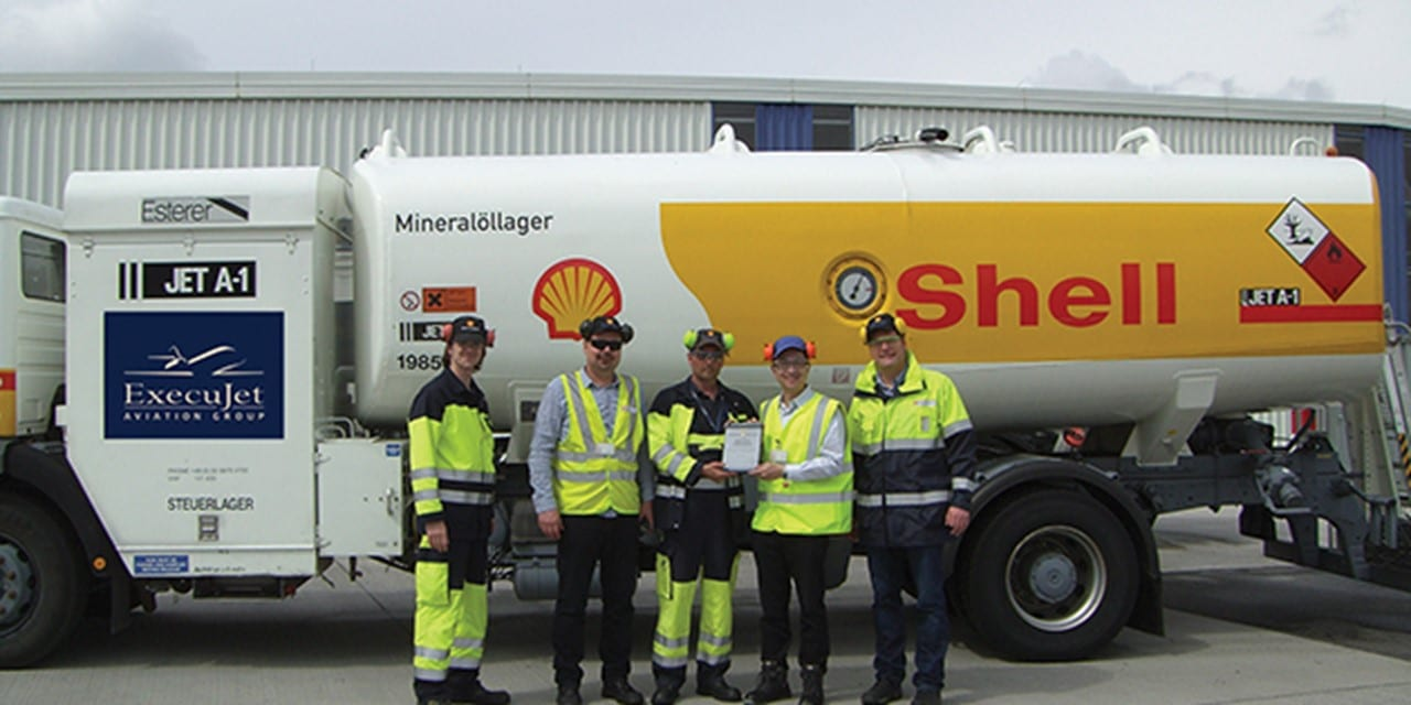 ExecuJet wins Shell Safety Awards for Berlin and Frankfurt FBOs