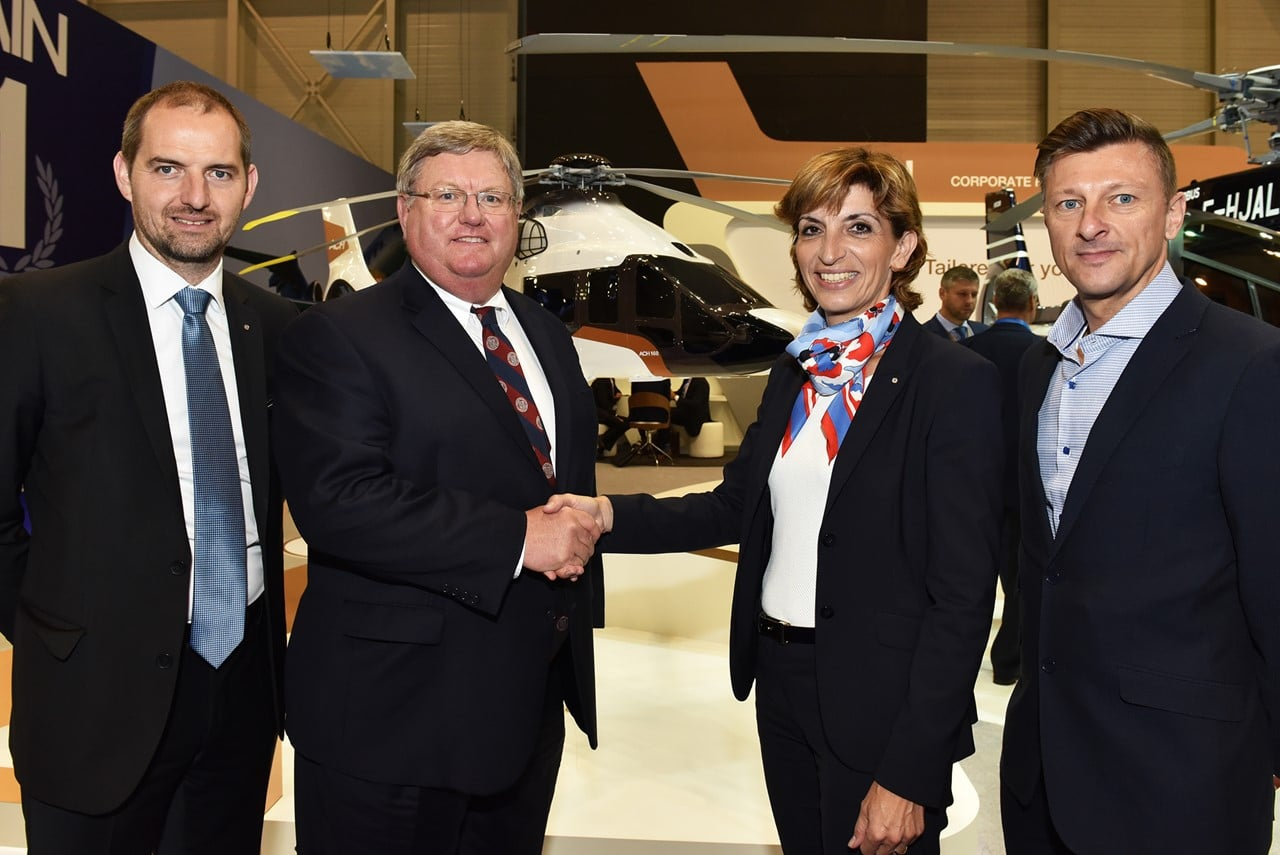 Luxaviation Helicopters announces first international VIP partnership with HeliFlite