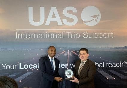 November 2019 - Eva International - UAS Honours the 'Best in Business Aviation'
