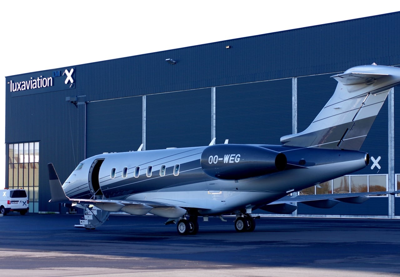 Bombardier Challenger 350 Aircraft Celebrates its First Delivery in Belgium