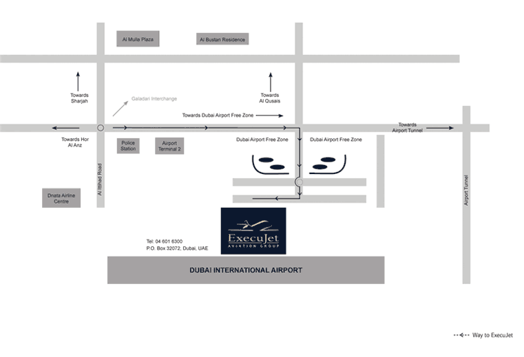 How to Find us - Dubai International Airport
