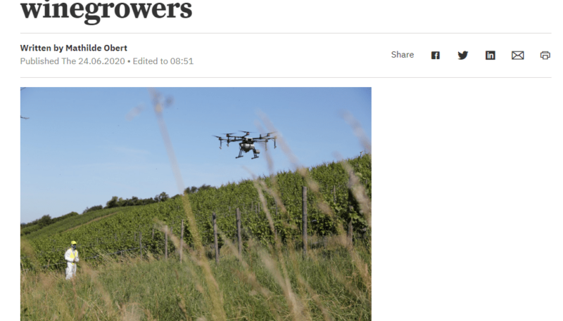 Luxaviation: drones to conquer winegrowers