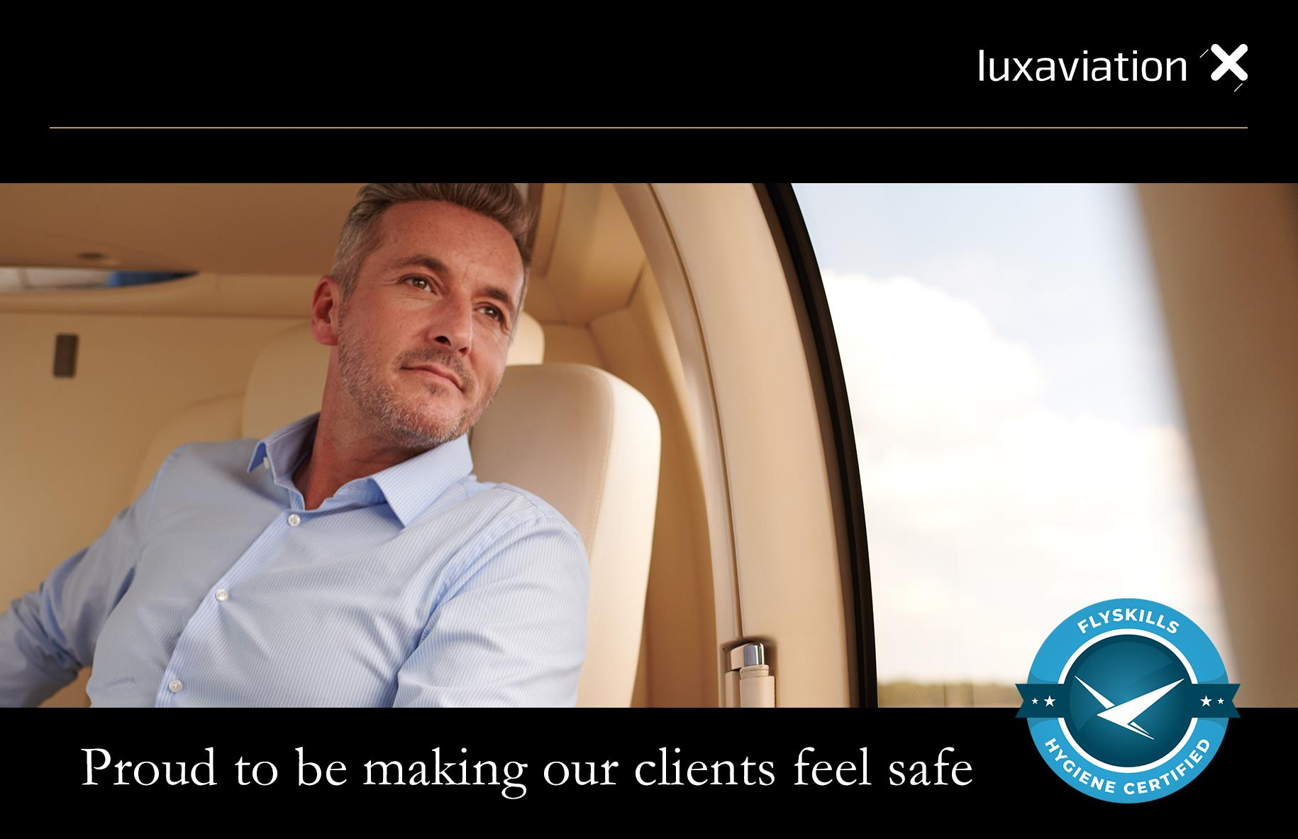 Luxaviation Group implementing FlySkills hygiene and safety standards