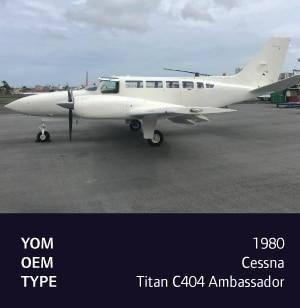 1980 Cessna Titan C404 Ambassador