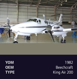 1982 Hawker Beechcraft King Air