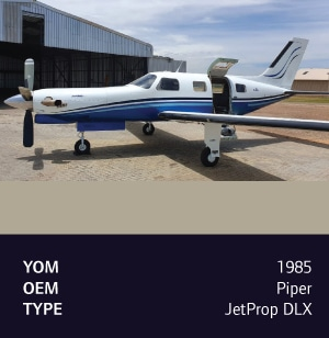 1985 Piper Jetprop