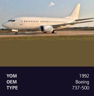 1992 Boeing 737-500